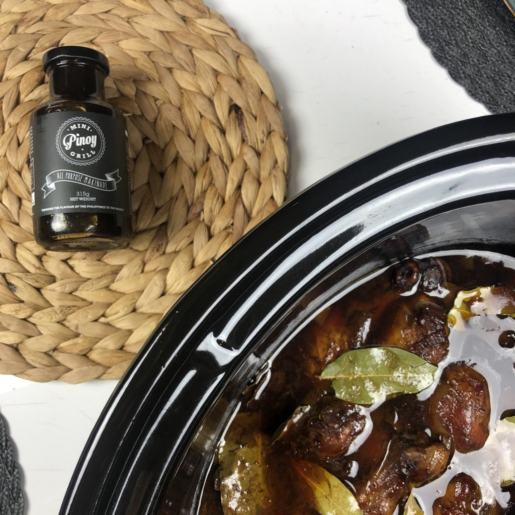 Chicken Adobo - Slow Cooker