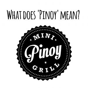 What does pinoy mean?
