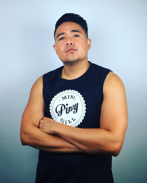 Mini Pinoy Grill - Muscle Shirt (front)
