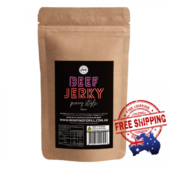 Beef Jerky - Pinoy Style | Free Shipping